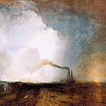 Joseph Mallord William Turner - Turner Joseph Staffa Fingals Cave Sun