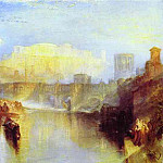 Joseph Mallord William Turner - William Turner - Ancient Rome_ Agrippina Landing with the Ashes of Germanicus