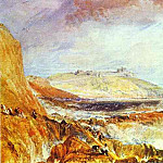 Joseph Mallord William Turner - William Turner - Pendennis Castle, Cornwall_ Scene after a Wreck