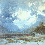 Joseph Mallord William Turner - Turner_Joseph_Dolbadern_Castle_1799