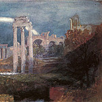 Joseph Mallord William Turner - Turner_Joseph_Mallord_William_Rome_The_Forum_with_a_Rainbow