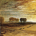 Joseph Mallord William Turner - Turner_Joseph_Mallord_William_Petworth_Park_Tillington_Church_in_the_Distance