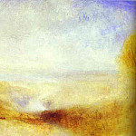 Джозеф Уильям Мэллорд Тёрнер - William Turner - Landscape with a River and a Bay in the Background