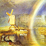 Joseph Mallord William Turner - William Turner - Arundel Castle, with Rainbow