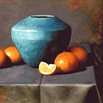 Timothy C Tyler - Turquoise_Tangerines