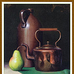 Timothy C Tyler - TylerTimothyG_CopperCrockeryandPear-We