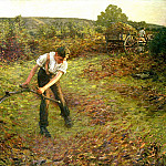 Henry Herbert La Thangue - Mowing Bracken
