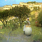 Henry Herbert La Thangue - December in Provence