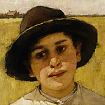 Henry Herbert La Thangue - Portrait of a Boy