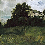 Michel (Mihaly) Lieb Munkacsy - Monastery on the Herreninsel