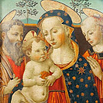 Giovanni Francesco da Rimini - Madonna and Child