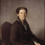 Unknown painters - Mrs Anna Wallenberg (1838-1910), f. Von Sydow