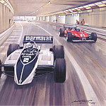 Майкл Тернер - Cmamtmon 044 1982 patrese win for brabham in extraordinary