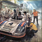 Michael Turner - CorsaScan 021 The Winning Porche Le Mans 1977