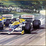 Michael Turner - CorsaScan 036 Mansell And Piquet British GP 1986