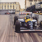 Michael Turner - Cmamtmon 056 1993 record sixth monaco victory for senna