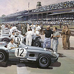 Michael Turner - Cmamtcl 006 mercedes team british gp 1955
