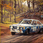 Michael Turner - CorsaScan 032 RAC Rally Stage 1974