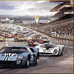Michael Turner - CorsaScan 023 Ford GT 40 Le Mans 1967