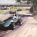 Michael Turner - Cmamtcl 009 stirling moss in the winning vanwall