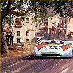 Michael Turner - CorsaScan 026 Porche Wins The Targa Florio 1970
