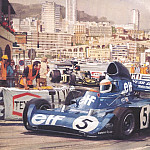 Майкл Тернер - Cmamtmon 032 1973 third monaco victory for stewart
