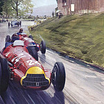 Michael Turner - Cmamtcl 004 fangio and farina fight for the lead