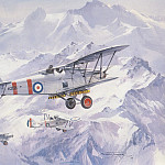 Michael Turner - c mtd hawker harts crossing the himalayas