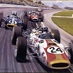 Michael Turner - CorsaScan 028 Rookie Hill Wins The Indy 500 1966