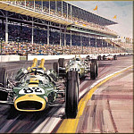 Michael Turner - CorsaScan 027 Clark Wins The Indianapolis 1965