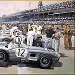 Michael Turner - CorsaScan 003 Mercedes Team 1955