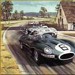 Michael Turner - CorsaScan 008 White House Corner At Le Mans 1955