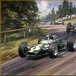 Michael Turner - CorsaScan 014 World Champion Jim Clark 1965