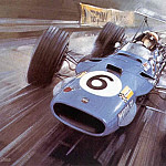 Michael Turner - Cmamtcl 016 1968 jackie stewart in the matra