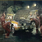 Michael Turner - CorsaScan 034 Sevice Stop For Audi 1984