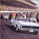 Michael Turner - CorsaScan 019 Camaro Pace Car Indy 500 1967