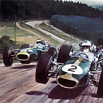 Michael Turner - Cmamtcl 015 1967 denny hulme german gp