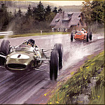 Michael Turner - CorsaScan 013 Jim Clark At Spa 1963