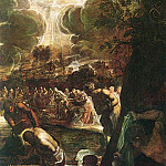Тинторетто (Якопо Робусти) - Tintoretto_Baptism_of_Christ_detail1