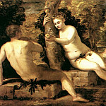 Tintoretto (Jacopo Robusti) - Adam_and_Eve_WGA