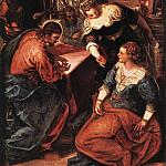 Tintoretto (Jacopo Robusti) - Christ_in_the_House_of_Martha_and_Mary_WGA