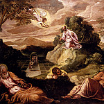 Tintoretto (Jacopo Robusti) - Robusti_Jacopo_Agony_In_The_Garden