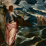 Tintoretto (Jacopo Robusti) - TINTORETTO CHRIST AT THE SEA OF GALILEE, C. 1575-1580, DETAL