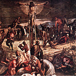 Tintoretto (Jacopo Robusti) - Tintoretto_Crucifixion_detail1