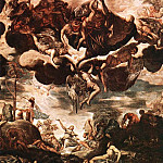 Tintoretto (Jacopo Robusti) - Tintoretto_Brazen_Serpent