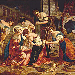 Tintoretto (Jacopo Robusti) - The_Birth_of_St._John_the_Baptist_WGA