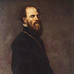 Tintoretto (Jacopo Robusti) - Tintoretto_Man_with_a_Golden_Lace