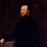Tintoretto (Jacopo Robusti) - Portrait Of A Bearded Venetian Nobleman