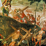 Tintoretto (Jacopo Robusti) - Tintoretto The ascent to Calvary, 1566-67, 515x390 cm, Sala