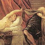 Tintoretto (Jacopo Robusti) - Joseph_and_Potiphars_Wife_WGA